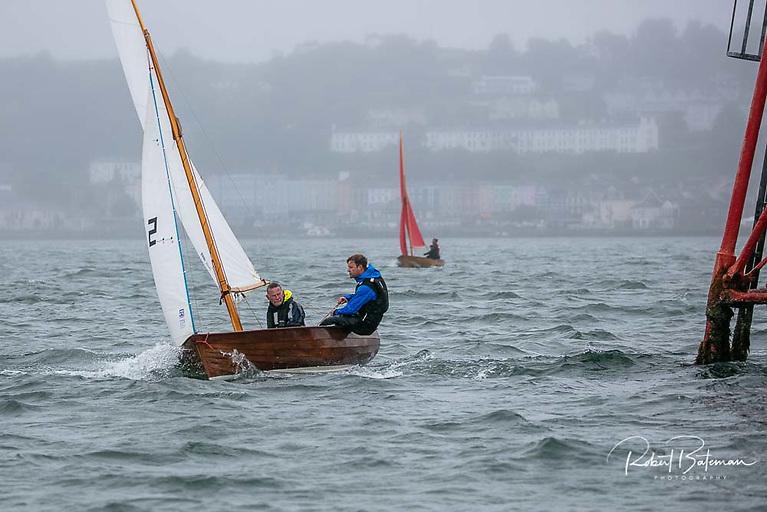 Ewan and David O'Keeffe were second in R5