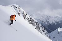 CMH - Steep Camp 2009 - Ski extrème en couloir - Colombie Britanique, Canada, Amérique du Nord, North America