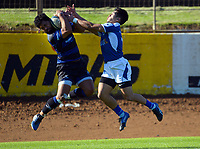 Action from the Auckland premier club rugby match between Ponsonby and University at Western Springs in Auckland, New Zealand on Saturday, 1 May 2021. Photo: Dave Lintott / lintottphoto.co.nz