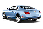 Car pictures of rear three quarter view of a 2014 Bentley Continental GT V8 Coupe 2 Door Coupe Angular Rear