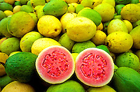 Colorful guavas from Kilauea Agronomics, Inc. on the Island of Kauai