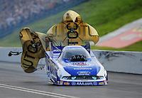 Jun. 19, 2011; Bristol, TN, USA: NHRA funny car driver Robert Hight during the Thunder Valley Nationals at Bristol Dragway. Mandatory Credit: Mark J. Rebilas-