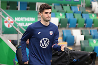 BELFAST, NORTHERN IRELAND - MARCH 28: Christian Pulisic #10 of the United States before a game between Northern Ireland and USMNT at Windsor Park on March 28, 2021 in Belfast, Northern Ireland.