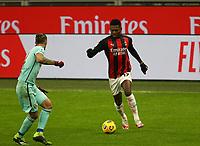 Milano  09-01-2021<br /> Stadio Giuseppe Meazza<br /> Campionato Serie A Tim 2020/21<br /> Milan - Torino<br /> nella foto:  Rafael Leo                                                        <br /> Antonio Saia Kines Milano