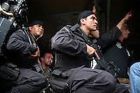 Forças do exército chegam ao municípiuo de Anapú reforçando a segurança na região após o assassinato de Dorothy Stang, freira norte americana da congregação de Notre Dame.<br /> Anapú, Pará, Brasil.<br /> Foto Paulo Santos
