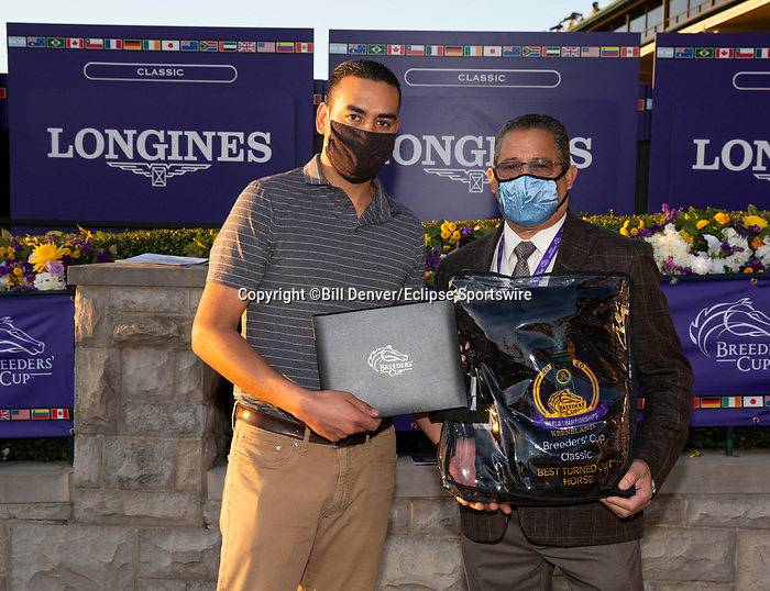 November 7, 2020: Best Turned Out horse, Longines Classic on Breeders' Cup Championship Saturday at Keeneland Race Course in Lexington, Kentucky on November 7, 2020. Bill Denver/Breeders' Cup/Eclipse Sportswire/CSM