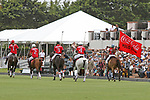 WELLINGTON, FL - MARCH 26:  Team Coca Cola. Scenes from the final of the 26 goal USPA Gold Cup, at the International Polo Club, Palm Beach on March 26, 2017 in Wellington, Florida. (Photo by Liz Lamont/Eclipse Sportswire/Getty Images)