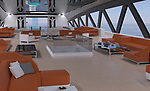 WITH VIDEO<br /> <br /> Pictured:  The interior<br /> <br /> A team of designers have revealed their incredible new £450 million mega-yacht concept inspired by Roman architecture.  The 501ft (153m) long 'Prodigium' has pools on three different levels and on the top deck the lounge area is surrounded by impressive marble columns.<br /> <br /> The palatial vessel combines the civilised ancient design with modern 'toys' and luxuries and has room for three helicopters and eight jet skis.  With its 34 meter width the unique and stylish yacht is also the widest boat ever conceived but is still capable of reaching a crushing speed of around 22 knots.  SEE OUR COPY FOR DETAILS.<br /> <br /> Please byline: Lazzarini Design Studio/Solent News<br /> <br /> © Lazzarini Design Studio/Solent News & Photo Agency<br /> UK +44 (0) 2380 458800