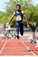 SAN ANTONIO, TX - MARCH 28, 2009: UTSA Relays Track & Field Meet - Day 2 at Jerry Comalander Stadium. (Photo by Jeff Huehn)