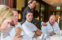 Rotterdam, Netherlands, Januari 17, 2017, Restaurant Parkheuvel, Chefs cooking at the  ABNAMROWTT 2018, <br /> Photo: Tennisimages/Henk Koster
