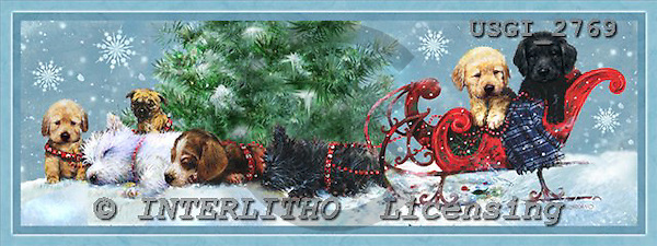 GIORDANO, CHRISTMAS ANIMALS, WEIHNACHTEN TIERE, NAVIDAD ANIMALES, paintings+++++,USGI2769,#XA#