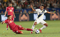 Carson, CA - Saturday April 28, 2018: The New York Red Bulls defeated the Los Angeles Galaxy 3-2 in a Major League Soccer (MLS) regular season game at StubHub Center.