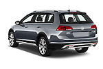 Car pictures of rear three quarter view of 2017 Volkswagen Golf-Alltrack SEL 5 Door Wagon Angular Rear