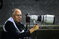 Getty Images photographer Dave Rogers during the 2017 DHL Lions Series rugby union match between the NZ Provincial Barbarians and British & Irish Lions at Toll Stadium in Whangarei, New Zealand on Saturday, 3 June 2017. Photo: Dave Lintott / lintottphoto.co.nz