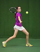 01-12-13,Netherlands, Almere,  National Tennis Center, Tennis, Winter Youth Circuit, Natasja Dragic,<br /> Photo: Henk Koster