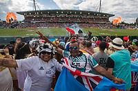 Day two of the 2018 HSBC World Sevens Series Hamilton at FMG Stadium in Hamilton, New Zealand on Sunday, 4 February 2018. Photo: Joe Johnson / lintottphoto.co.nz