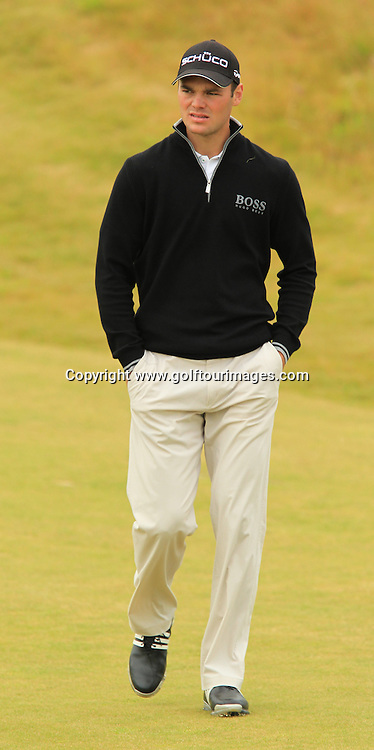 Martin Kaymer during the second round of the 2012 Aberdeen Asset Management Scottish Open being played over the links at Castle Stuart, Inverness, Scotland from 12th to 14th July 2012:  Stuart Adams www.golftourimages.com:13th July 2012