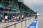 02 Apr 2009, Kuala Lumpur, Malaysia ---   General view of the pit lane during the 2009 Fia Formula One Malasyan Grand Prix at the Sepang circuit near Kuala Lumpur. Photo by Victor Fraile --- Image by © Victor Fraile / The Power of Sport Images