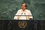 General Assembly Seventy-fourth session<br /> <br /> <br /> <br />  Mr. Ravinatha ARYASINHAChair of Delegation of Sri Lanka