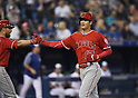 MLB: Los Angeles Angels Shohei Ohtani during a game against Toronto Blue Jay