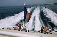 Europe/Provence-Alpes-Côte d'Azur/83/Var/Iles d'Hyères/Ile de Porquerolles: Sur le bateau pour l'Ile