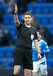 St Johnstone v Celtic…05.02.17     SPFL    McDiarmid Park<br />Referee Craig Thomson<br />Picture by Graeme Hart.<br />Copyright Perthshire Picture Agency<br />Tel: 01738 623350  Mobile: 07990 594431