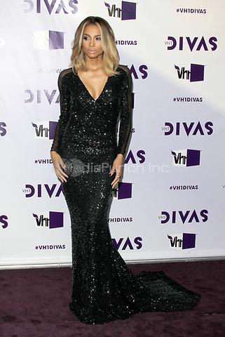 LOS ANGELES, CA - DECEMBER 16: Ciara at VH1 Divas 2012 at The Shrine Auditorium on December 16, 2012 in Los Angeles, California. Credit: mpi21/MediaPunch Inc.