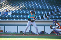 Gavin Casas (15) of American Heritage High School in Pembroke Pine, Florida during the Baseball Factory All-America Pre-Season Tournament, powered by Under Armour, on January 13, 2018 at Sloan Park Complex in Mesa, Arizona.  (Zachary Lucy/Four Seam Images)