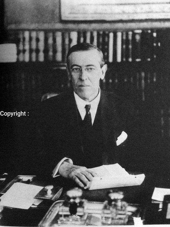 Governor Woodrow Wilson, 1911