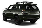 Car pictures of rear three quarter view of 2020 Toyota 4Runner TRD-Pro 5 Door SUV Angular Rear