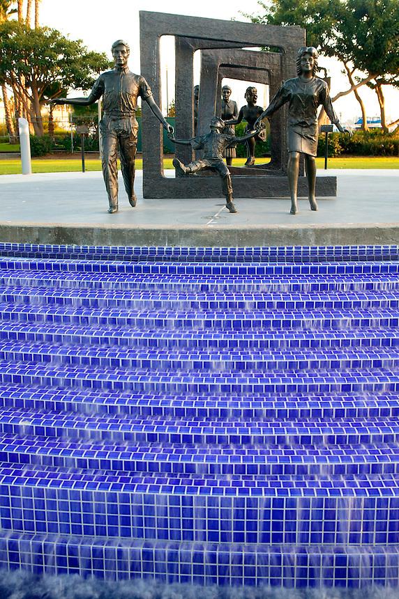 Cancer Survivors Park, near Harbor Island, San Diego, California