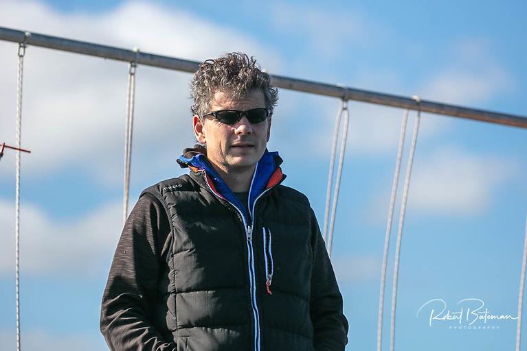 Race officer Ross Deasy