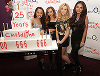 20/11/13<br /> Little Mix (L-R)  Leigh-Anne Pinnock,Jade Thirlwall,Perrie Edwards and Jesy Nelson who will be performing Cheerios Childline Concert at the O2 Dublin this evening….<br /> Pic Collins Photos
