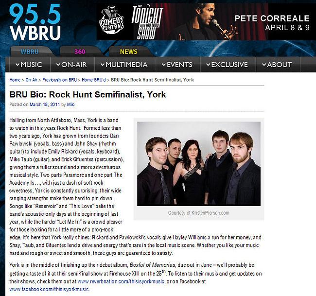 wbru.com - March 2011