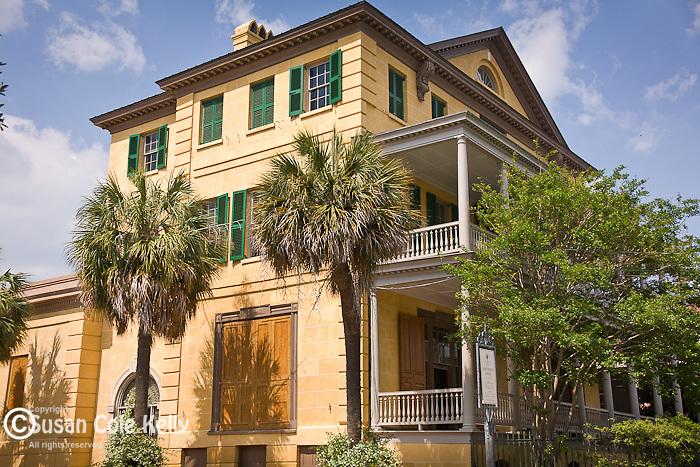 The Aiken-Rhett house in downtown Charleston, SC, a National Historic Landmark district.