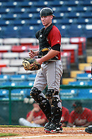 Houston Astros minor league catcher Ben Heath during a game vs. the Chinese National Team in an Instructional League game at Holman Stadium in Vero Beach, Florida September 28, 2010.   Photo By Mike Janes/Four Seam Images