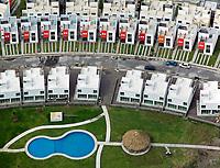 aerial photograph of a residential development in Veracruz, Mexico | fotografía aérea de un desarrollo residencial en Veracruz, México