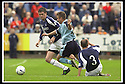 28/9/02       Copyright Pic : James Stewart                     .File Name : stewart-falkirk v st j'stone 19.KEIGAN PARKER IS CAUGHT LATE BY JAMIE MCQUILKEN....James Stewart Photo Agency, 19 Carronlea Drive, Falkirk. FK2 8DN      Vat Reg No. 607 6932 25.Office : +44 (0)1324 570906     .Mobile : + 44 (0)7721 416997.Fax     :  +44 (0)1324 570906.E-mail : jim@jspa.co.uk.If you require further information then contact Jim Stewart on any of the numbers above.........