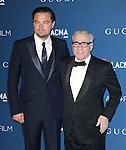 LOS ANGELES, CA - NOVEMBER 02: Leonardo DiCaprio , Martin Scorsese arrives at  LACMA 2013 Art + Film Gala held at LACMA  in Los Angeles, California on November 02,2012                                                                               © 2013 Hollywood Press Agency
