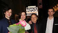 04-12-18 Margaret Colin - Justin Deas - sons Sam & Joe - Broadway Carousel