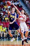 Bullen Christian Matthew #4 of Winling Basketball Club goes to the basket against the Nam Ching during the Hong Kong Basketball League game between Nam Ching vs Winling at Southorn Stadium on May 11, 2018 in Hong Kong. Photo by Yu Chun Christopher Wong / Power Sport Images