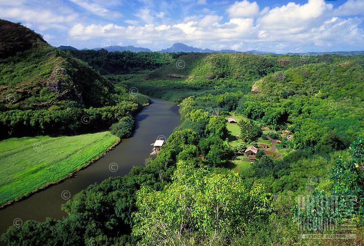 Kauai's Wailua River, the only navigable river in all of Hawaii