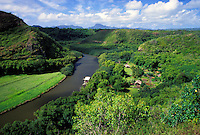 Kauai's Wailua River, the only navigable river in all of Hawaii