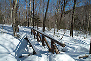 Beaver Brook Trail on the north side of Mount Moosilauke, which is in the White Mountain National Forest of New Hampshire. Beaver Brook Trail is part of the Appalachian Trail