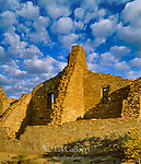 Ruins, Pueblo Bonito, Chaco Culture National Historical Park, New Mexico