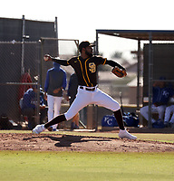 Frank Lopez - 2020 AIL Padres (Bill Mitchell)