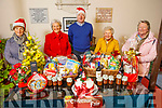 Attending the launch of the St John's Christmas Fair on Tuesday. L to r: Suzie Keating, Mona Butler, Rev Jim Stephens, Mary Kench and Rhona Giles