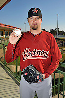 Feb 25, 2010; Kissimmee, FL, USA; The Houston Astros pitcher Brandon Lyon (37) during photoday at Osceola County Stadium. Mandatory Credit: Tomasso De Rosa/ Four Seam Images