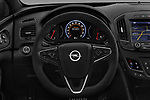 Car pictures of steering wheel view of a 2016 Opel Insignia Cosmo 5 Door hatchback Steering Wheel