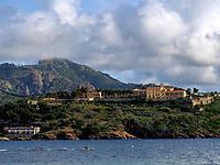 Festung Forte di Longone, Porto Azzuro, Elba, Region Toskana, Provinz Livorno, Italien, Europa<br /> Fortress Forte di Longone, Porto Azzuro, Elba, Region Tuscany, Province Livorno, Italy, Europe